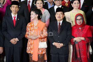 Riasan yang Sesuai untuk Iriana Saat Temani Jokowi Blusukan