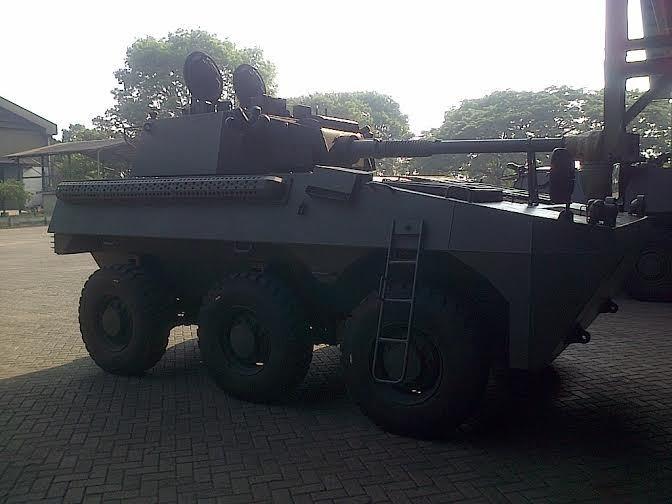 Siap Diberi Nama Jokowi, Ini Penampakan Panser Canon Made in Bandung