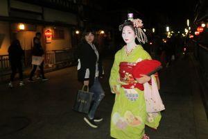 Mencari Geisha di Kyoto