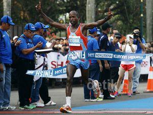 Ribuan Pelari Ikuti Mandiri Jakarta Marathon