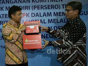 Bank Mandiri Gandeng KPK Cegah Gratifikasi