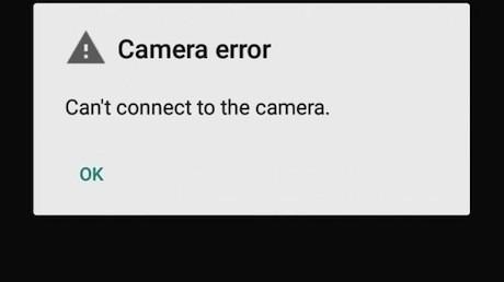 Tampilan kamera di Nexus yang bermasalah usai update ke Android Lollipop (Softpedia)