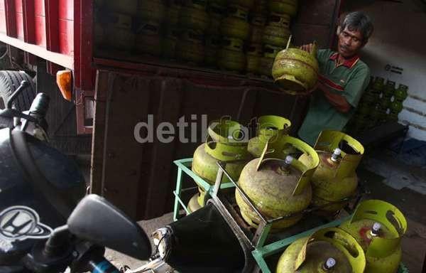 Lebih Mahal 80%, Harga Elpiji 3 Kg di Perbatasan Kalimantan Rp 30.000/Tabung