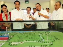 Jokowi Blusukan ke Proyek PLTU Lampung