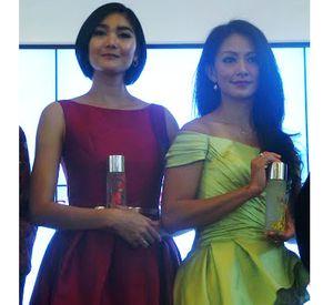 Foto: Cantiknya Dominique Diyose & Susan Bachtiar dengan Make-up Tipis