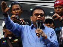 Wakil Ketua DPRD DKI Taufik Temui Buruh
