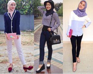 Hijab Style: Gaya Simpel Fildza Hasnamudhia, Kakak Iqbal Coboy Junior