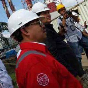 Menteri ESDM Resmikan Jaringan Pipa Gas Arun-Belawan 350 Km