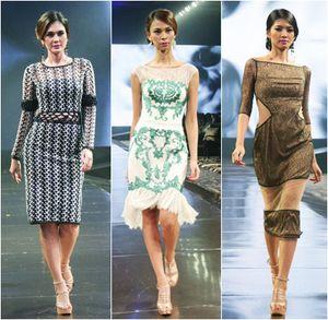 Arantxa Adi Rilis Koleksi Gaun Feminin dengan Teknik Laser Cut