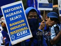 Buruh Migran Demo di Istana
