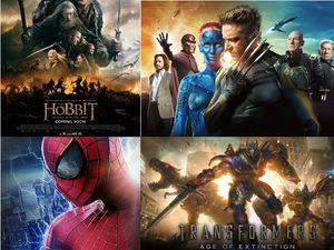 10 Film Hollywood Termahal 2014