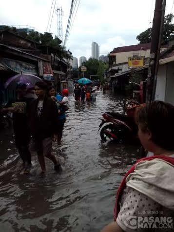 Ini Penampakan Banjir di Jakarta
