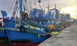 Menteri Susi Kembali Tangkap Kapal Besar Pencuri Ikan di Laut Arafura
