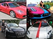 10 Mobil Mewah Artis Indonesia Sepanjang 2014