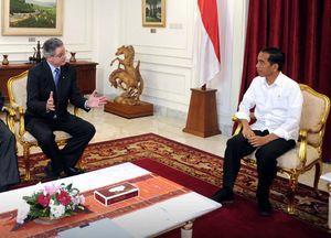 Bos-bos Chevron Temui Jokowi