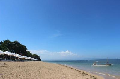 Pantai Duyung yang Sepi di Bali