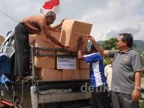 Aksi Kemanusiaan untuk Bencana Longsor Banjarnegara