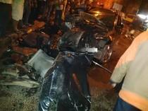 BMW yang Kecelakaan di Ciputat: Tabrak Innova, Ngebut Lalu Tubruk Truk
