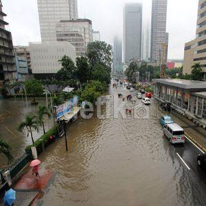 Biang Kerok Banjir Jakarta: Daerah Resapan Jadi Kantor dan Mal