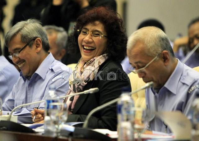 Titiek Soeharto ke Menteri Susi: Kebijakannya Baik Hanya Kurang Sosialisasi
