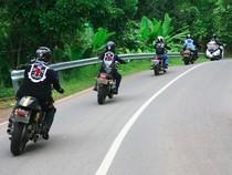 Touring Perdana Komunitas Motor Triumph Sejauh 600 Km