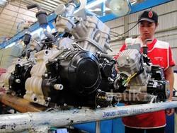 Dapur Produksi Motor Viar di Semarang