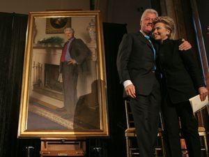 Lukisan Ini Ungkap Rahasia Perselingkuhan Bill Clinton