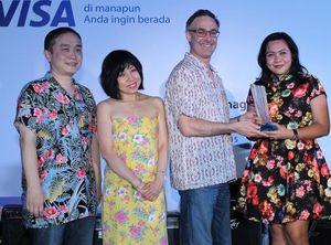 Bank Mega Raih Best Visa Credit Card Issuer 2014