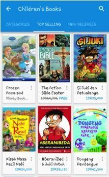 Mau Beli e-Books Untuk Anak? Ini Cara Mudahnya