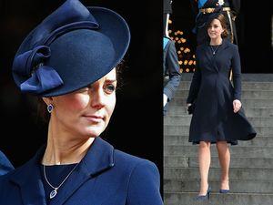 Hamil 8 Bulan, Kate Middleton Tetap Elegan