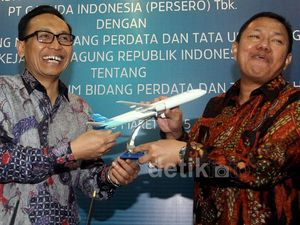 Garuda Indonesia Gandeng Jamdatun