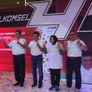 Peresmian Telkomsel 4G di Surabaya