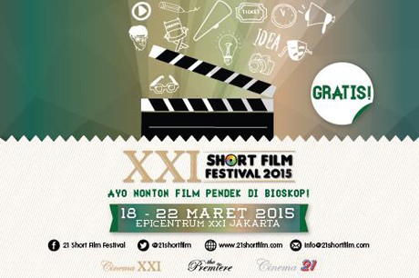 Ini Para Pemenang XXI Short Film Festival 2015