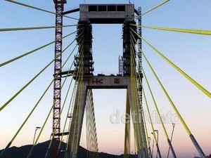 Jembatan Soekarno Akhirnya Tersambung