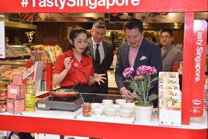 Produk Makanan Singapura Hadir dalam 'Tasty Singapore Food Aisle'
