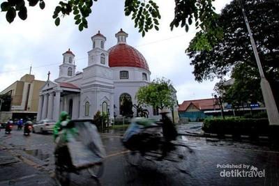 Kota Lama Semarang Berjuluk Little Netherland, Ini Alasannya