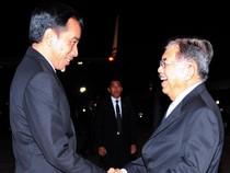 Presiden Jokowi Tiba di Tanah Air