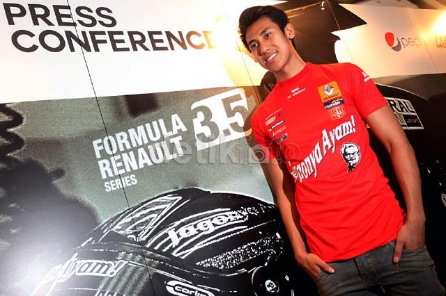 Sean Gelael Siap Bertarung di Formula Renault 3.5