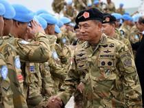 Panglima TNI Kunjungi Satgas Indobatt di Libanon