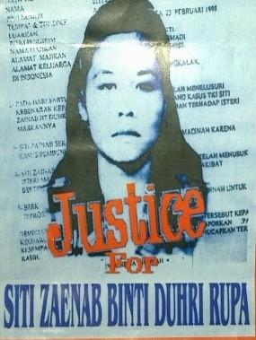 Protes Keras, Ini Upaya Hukum Indonesia Sebelum Siti Zaenab Dieksekusi Mati
