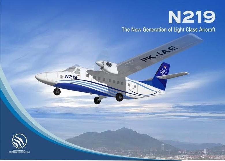 Mantap! 75 Unit Pesawat N219 Made in Bandung Dipesan 3 Perusahaan Ini