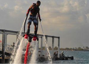 Flyboarding, Sensasi Baru Menikmati Laut