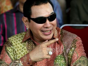 Tommy Soeharto Hadiri Syukuran HUT Kopassus