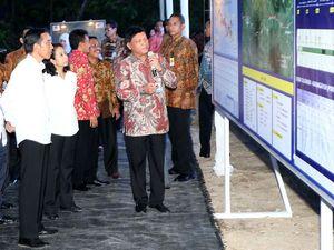 Jokowi Resmikan Proyek Tol Solo-Kertosono