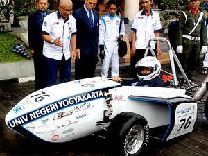 Mobil Formula UNY Siap Beraksi di Jepang dan Korea