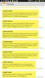 Begini Aneka Rupa SMS Esek-esek yang Mengarahkan ke 0809xxxxx