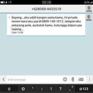 Pelaku SMS Esek-esek Bisa Dikenai UU Human Trafficking
