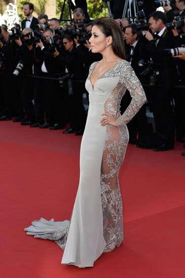 Eva Longoria Tanpa Underwear di Festival Film Cannes