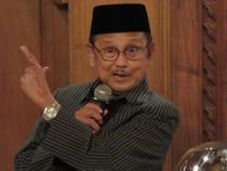Cerita Habibie Tentang Ilmuwan Indonesia di Negara Lain dan IMF