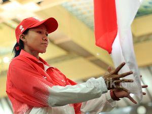 Kontingen Indonesia untuk SEA Games di Lepas